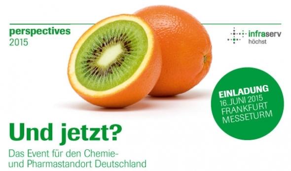 perspectives 2015 -Das Event für den Chemie- und Pharmastandort Deutschland