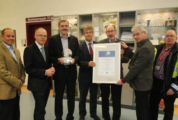 Infraserv honored for health and safety record