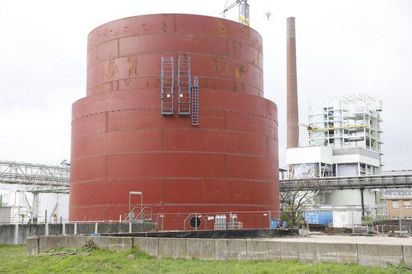 Bild: Neuer Methanoltank für eine größere Versorgungssicherheit