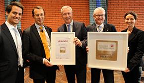 """Bild: """"Gesundes Unternehmen"""": Gold für Infraserv Höchst"""